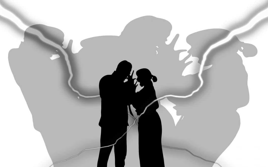 Vreemdgaan partner leidt tot strijd